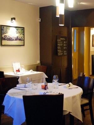 Restaurant gastron. Les Toqués