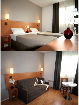 H tel jeanne d 39 arc orl ans r sidence appart 39 h tel for Appart hotel orleans
